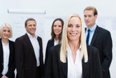 Successful corporate manageress — Foto Stock