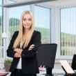 Confident successful business executive — Stock Photo