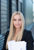 Stylish young business executive — Foto de Stock