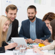 Business team brainstorming — Stockfoto