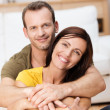 Portrait of a happy loving adult couple — Stock Photo #34569423
