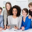 Multiethnic business team — Stock Photo #40767295
