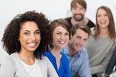 Multiethnic business team — Stock Photo