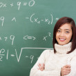 Confident young Asian teacher or student — Stock Photo #44138153