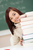Happy young student — Stock Photo