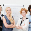 Dedicated confident multiracial business team — Stock Photo #47969541