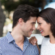 Couple staring into each others eyes — Stock Photo #48791137