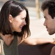 Couple staring into each other eyes — Stock Photo #49041353