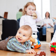 Baby boy reaching for toy — Stock Photo #50288939
