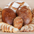 Various breads — Stock Photo #50582535