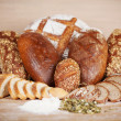 Variety of breads — Stock Photo #50585373