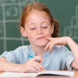 Little girl in class in school — Stock Photo #51323535