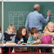 Young children in class at school — Stock Photo #51324837