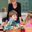Boy in class smile at  camera — Stock Photo #51326363