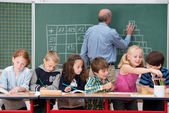 Young children in class at school — Stock Photo