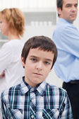 Conflict in the family — Stock Photo
