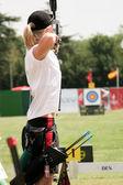 Female archer — Stock Photo