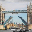 Stock Photo: Tower Bridge in London.