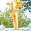 Stock Photo: Johann Strauss monument