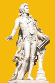 Statue of Wolfgang Amadeus Mozart in Vienna. — Stock Photo