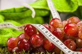 Barevné fitness složení — Stock fotografie