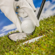 Stock Photo: Equipment of golf game