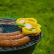 It's barbecue time! — Stock fotografie