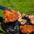 It's barbecue time! — 图库照片