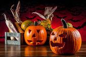 Colorido tema halloween — Foto de Stock