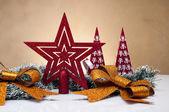 Composition of Christmas stuff — Stock Photo