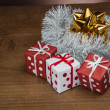 Stock Photo: Christmas stuff, winter decorations
