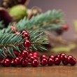 Christmas theme with ambient light — Stock Photo