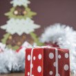 Atmospheric Christmas decorations — Stock Photo