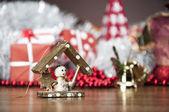 Winter theme, winter composition — Stock Photo