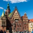 Silesia, capital city, old town — Stock Photo