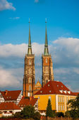 Autumn in the city of Wroclaw — Stock Photo