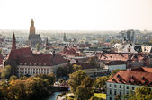 Colorful fall in Wroclaw — Stock Photo