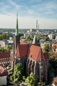 Wroclaw the meeting place — Stock Photo