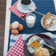 Stock Photo: Soft light breakfast concept