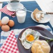 Soft light breakfast concept — Stock Photo