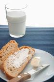 Natural breakfast, rural theme — Stock Photo