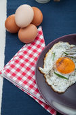 Rural theme of traditional breakfast — Stock Photo