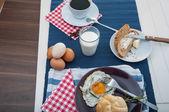Yumuşak hafif kahvaltı konsepti — Stok fotoğraf
