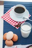 Soft light breakfast concept — Stockfoto