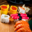 Stock Photo: Colorful oriental sushi