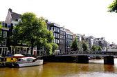 Wonderful old Amsterdam city, Naderlands — Stock Photo