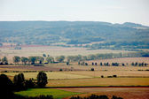 Landscape of Lower Silesia, southern Poland — Stock Photo