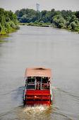 弗罗茨瓦夫附近的奥得河 — 图库照片