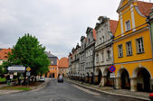 Small town in southern Poland — Stock Photo
