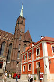 Colorful city of Wroclaw — 图库照片